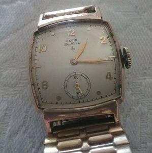 Other - Elgin Deluxe 10K Gold Wrist Watch